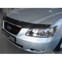 """SIM Hyundai Sonata (NF) '04-08 Дефлектор капота """"мухобойка"""" (темный)"""