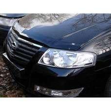 "SIM Nissan Almera Classic (B10) '06- Дефлектор капота ""мухобойка"" (темный)"