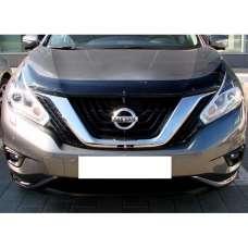 "SIM Nissan Murano (Z52) III '14- Дефлектор капота ""мухобойка"" (темный)"