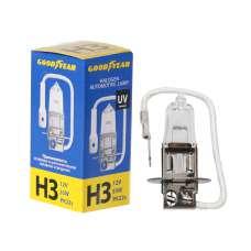 GOODYEAR Лампа автомобильная галогенная H3 12V 55W PK22s