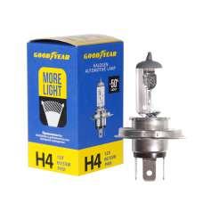 GOODYEAR Лампа автомобильная галогенная H4 12V 60/55W P43t More Light