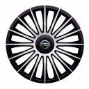 J-TEC Austin Silver&Black R13 Колпаки для колес с логотипом Nissan (Комплект 4 шт.)