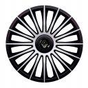 J-TEC Austin Silver&Black R13 Колпаки для колес с логотипом Renault (Комплект 4 шт.)