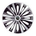 J-TEC Multi Silver&Black R14 Колпаки для колес с логотипом Nissan (Комплект 4 шт.)