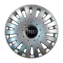 SKS 211 R14 Колпаки для колес с логотипом Audi (Комплект 4 шт.)