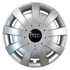 SKS 309 R15 Колпаки для колес с логотипом Audi (Комплект 4 шт.)