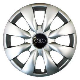 SKS 316 R15 Колпаки для колес с логотипом Audi (Комплект 4 шт.)