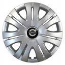 SKS 408 R16 Колпаки для колес с логотипом Volvo (Комплект 4 шт.)