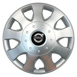 SKS 400 R16 Колпаки для колес с логотипом Volvo (Комплект 4 шт.)