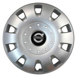 SKS 401 R16 Колпаки для колес с логотипом Volvo (Комплект 4 шт.)