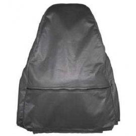 Чехлы в салон Пилот для Daewoo Nexia '08- гобелен/ткань [люкс] (комплект) (задняя спинка сиденья с горбами)