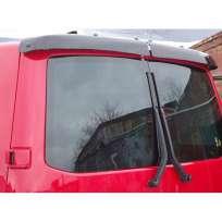 VipTuning Дефлектор задней двери на Volkswagen T5 '03- микроавтобус/с распашными дверями (на крепеже)