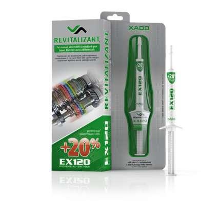 XADO EX120 Гель-ревитализант для КПП и редукторов