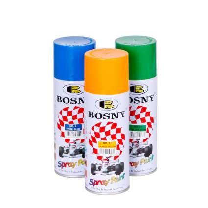BOSNY Спрей-краска аэрозольная акриловая 400 мл