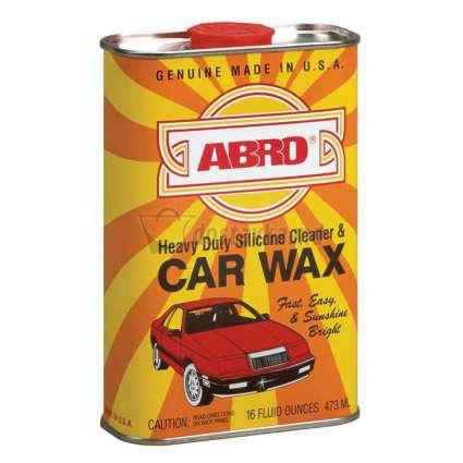 ABRO Car Wax СИЛИКОНОВЫЙ ВОСК ДЛЯ ПОЛИРОВКИ И ОЧИСТКИ КУЗОВА