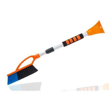 MAXI-PLAST Щетка со скребком для удаления снега и льда телескоп TUNDRA