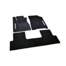 AVTM Коврики в салон текстильные Honda CR-V IV '12-16 Черные (Комплект 3шт.)