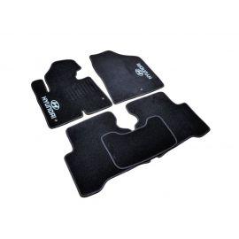 AVTM Коврики в салон текстильные Hyundai Santa Fe III '12- Черные (Комплект 5шт.)