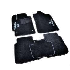 AVTM Коврики в салон текстильные Toyota Camry XV40 '06-11 Черные (Комплект 5шт.)
