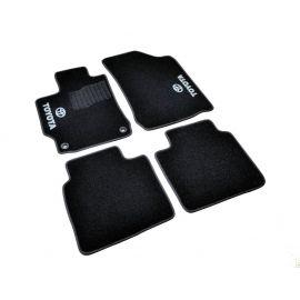 AVTM Коврики в салон текстильные Toyota Camry XV50 '11-17 Черные (Комплект 5шт.)